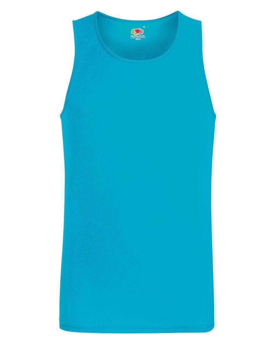 SS017 Fruit Of The Loom Unisex Sleeveless Performance Vest