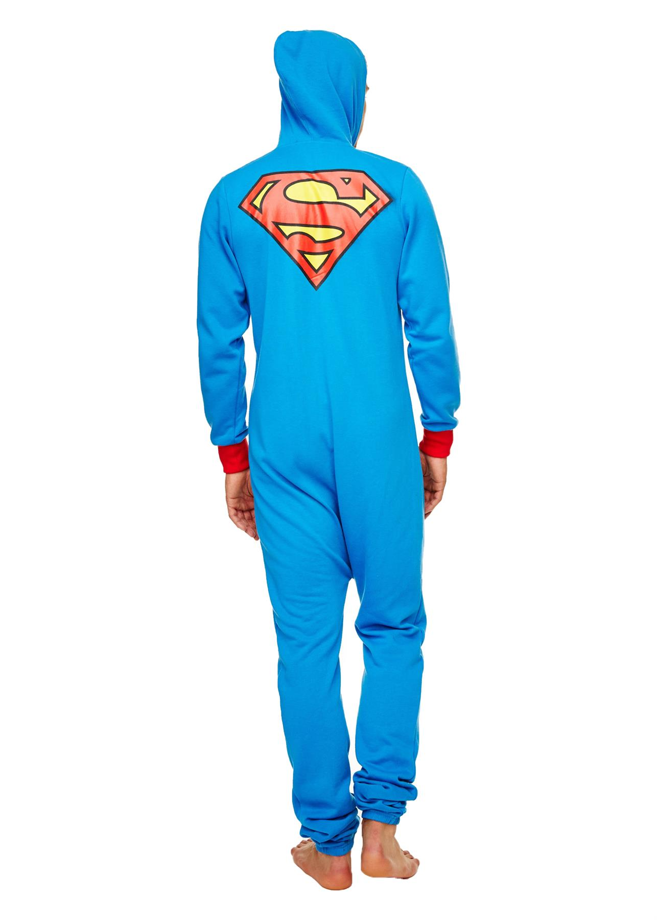 Homme-Deadpool-Superman-Darth-Vader-a-Capuche-Combinaison-Fermeture-Eclair-Tout-En-Un-1-Grenouillere miniature 8