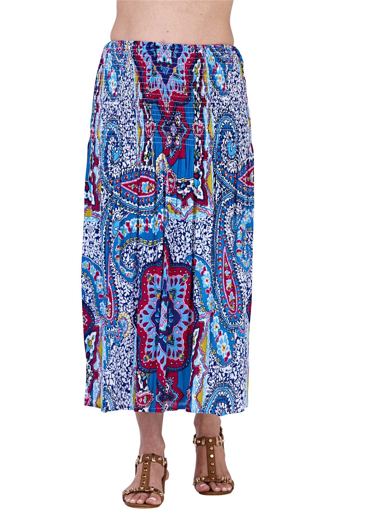 Ladies-Pistachio-Viscose-3-Way-Halter-Bandeau-Skirt-Summer-Beach-Dresses thumbnail 4