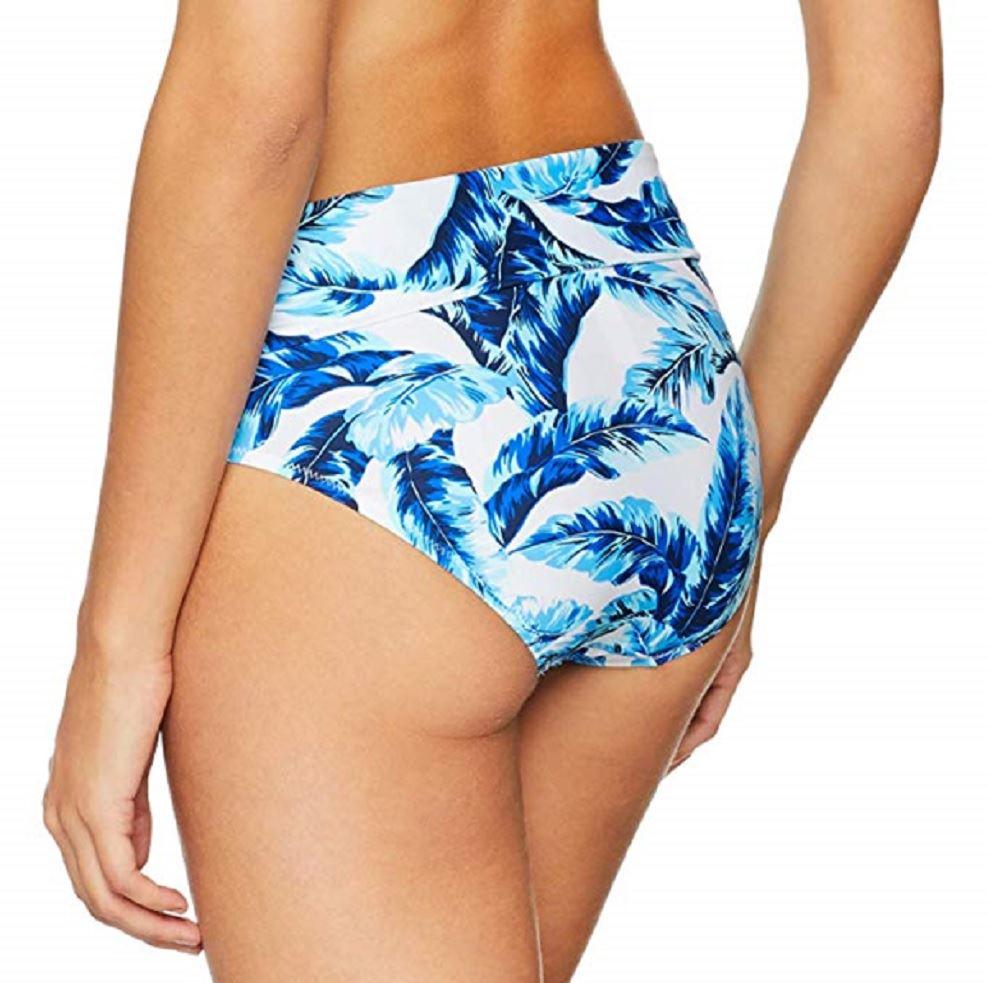 Womens Reef Foldover Brief Bikini Bottoms Pour Moi