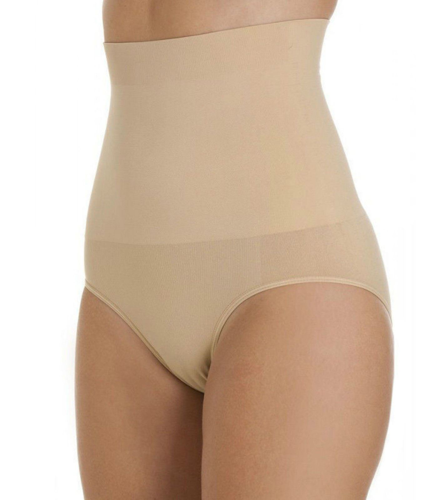 9a3a698d67fe6 Details about Control High Waist Shapewear Seamfree Slimming Briefs Tummy  Tuck Bum Lift Girdle