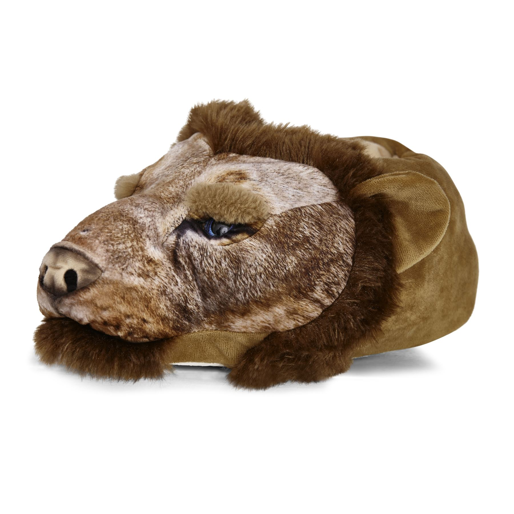 Mens-Undercover-3D-Soft-Comfy-Character-Novelty-Animal-Monster-Feet-Slippers thumbnail 10