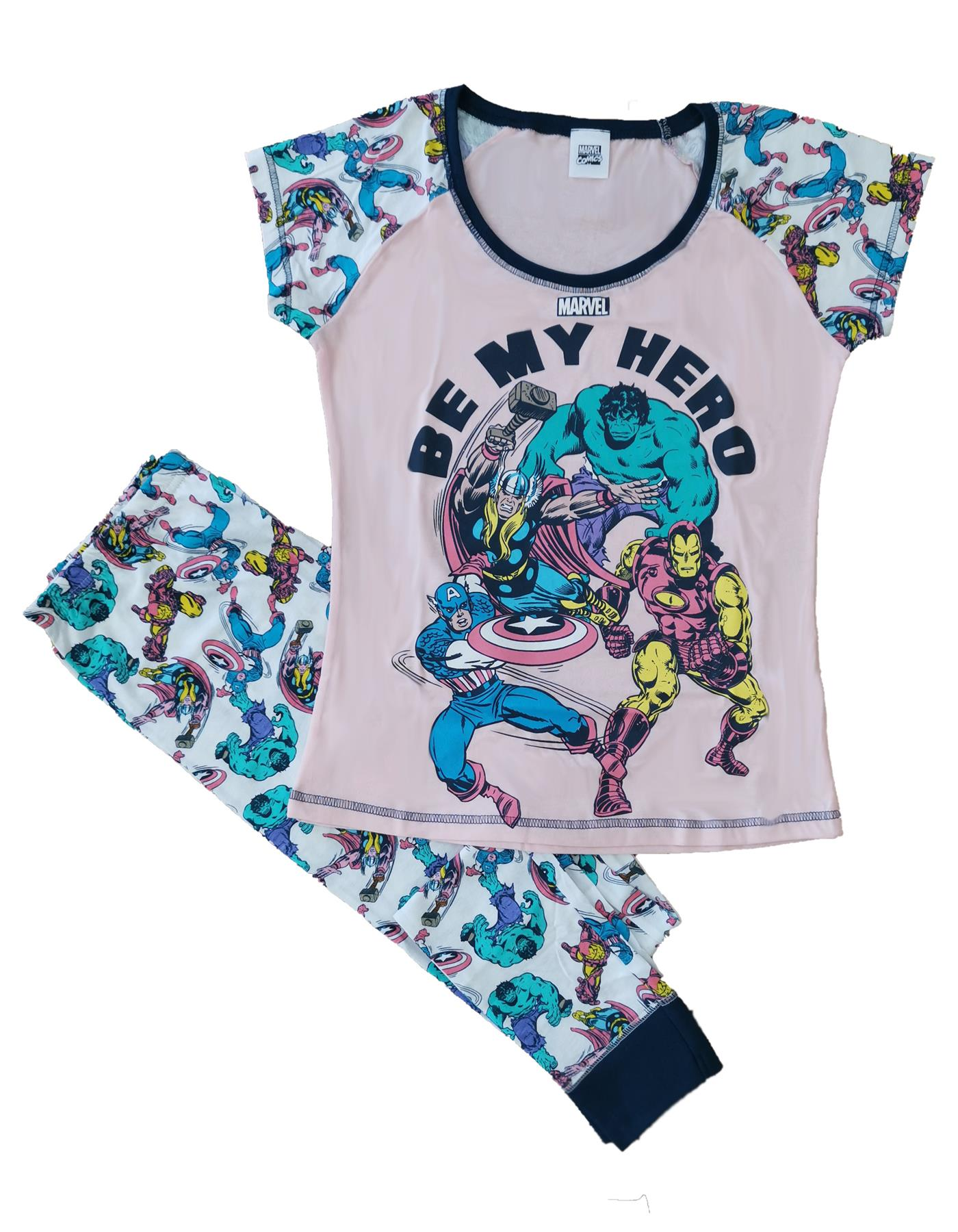 Ladies Character DC Comics Batgirl Pyjamas Novelty Pyjama PJ Set Size 8-22