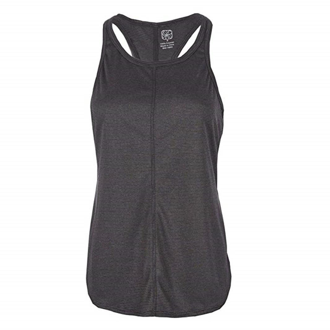 Ladies-Womens-Red-Tag-Active-Racer-Back-Yoga-Gym-Exercise-Vest-Tank-Top thumbnail 6