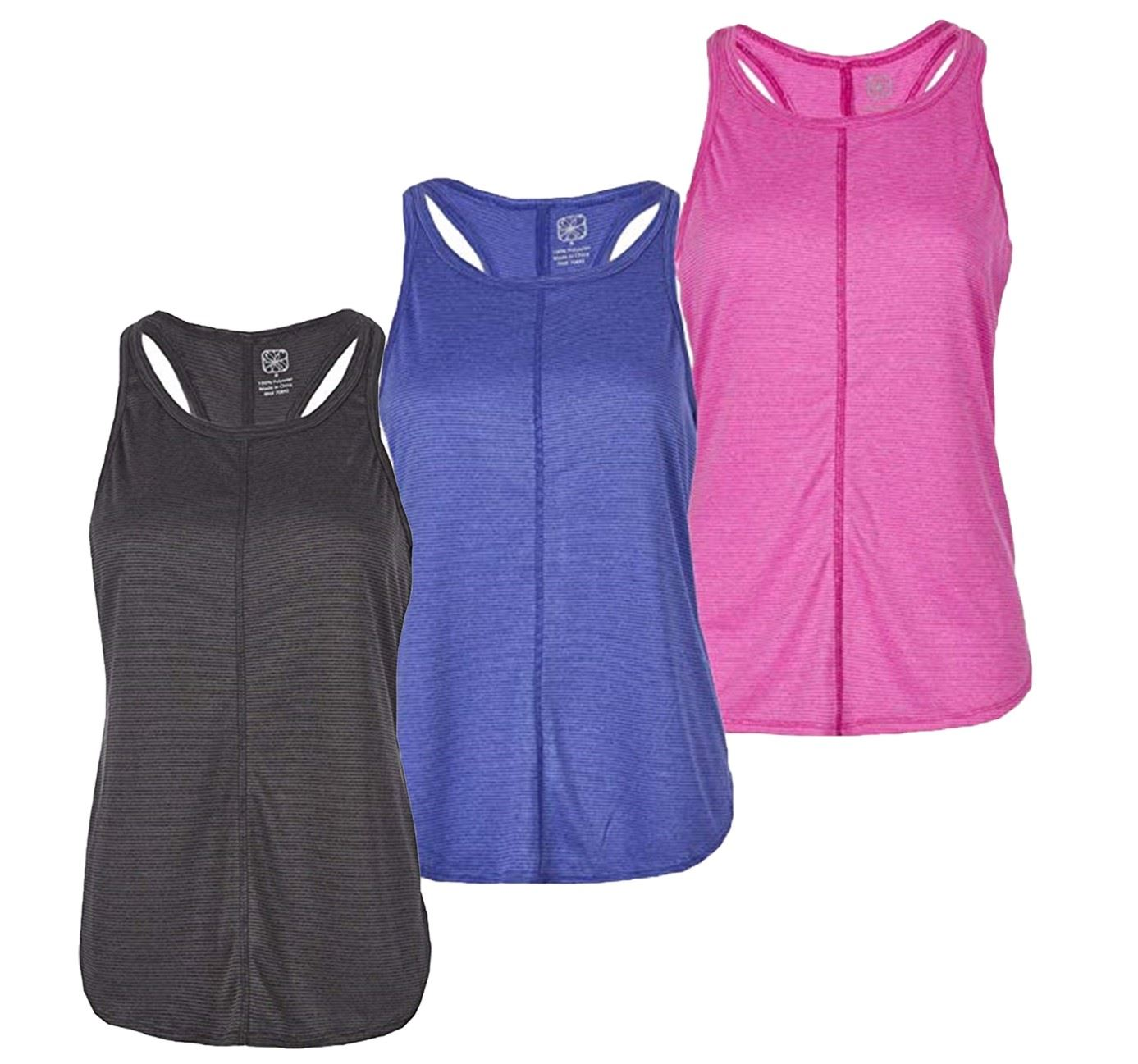 Ladies-Womens-Red-Tag-Active-Racer-Back-Yoga-Gym-Exercise-Vest-Tank-Top thumbnail 19