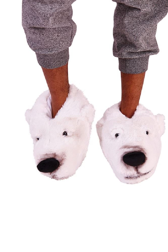 Mens-Undercover-3D-Soft-Comfy-Character-Novelty-Animal-Monster-Feet-Slippers thumbnail 13