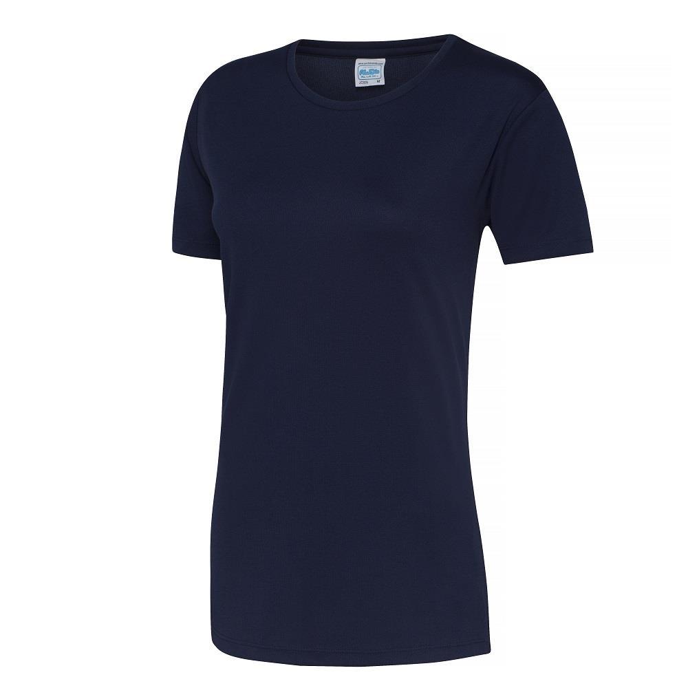 JC005 AWDis Just Cool Womens Short Sleeve Girlie Cool T-Shirt