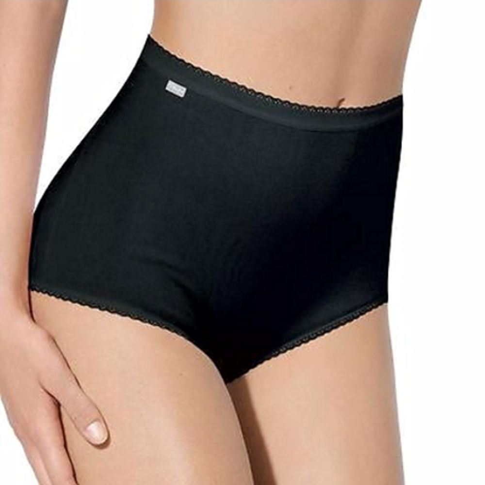 Womens Charnos 2 pack Cotton Rich Maxi Brief 38910 Black or White