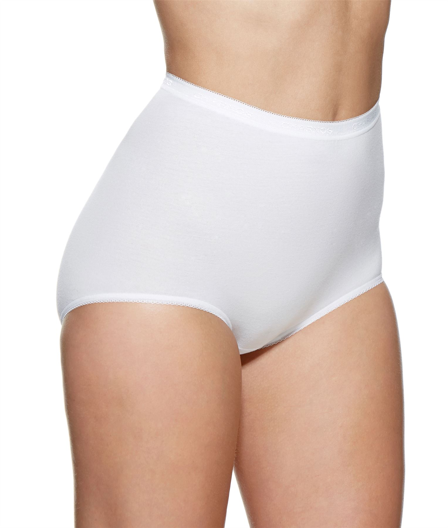 Womens-Charnos-2-pack-Cotton-Rich-Maxi-Brief-38910-Black-or-White