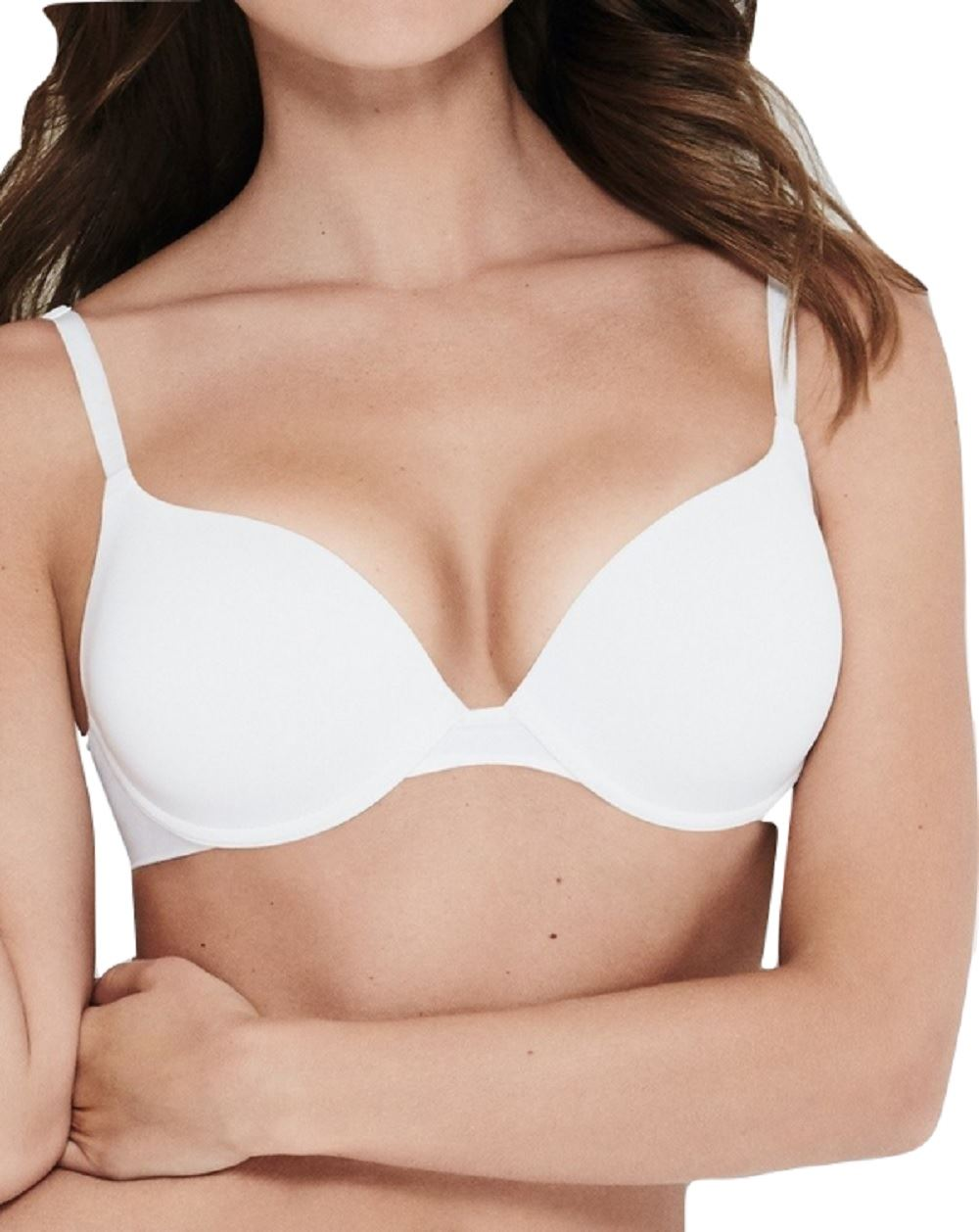 f837f941a0 Wonderbra Ultimate Silhouette Push Up T Shirt Bra W9443 Black White or  Skin  Picture 2 of 2