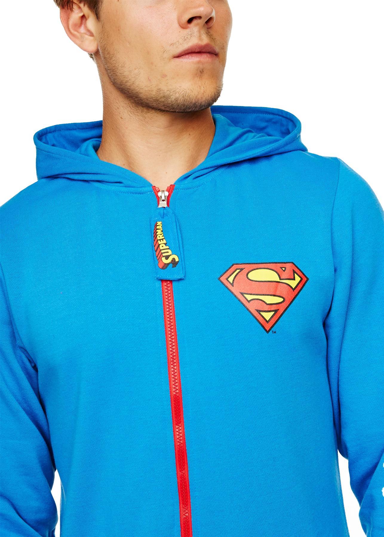 Homme-Deadpool-Superman-Darth-Vader-a-Capuche-Combinaison-Fermeture-Eclair-Tout-En-Un-1-Grenouillere miniature 9