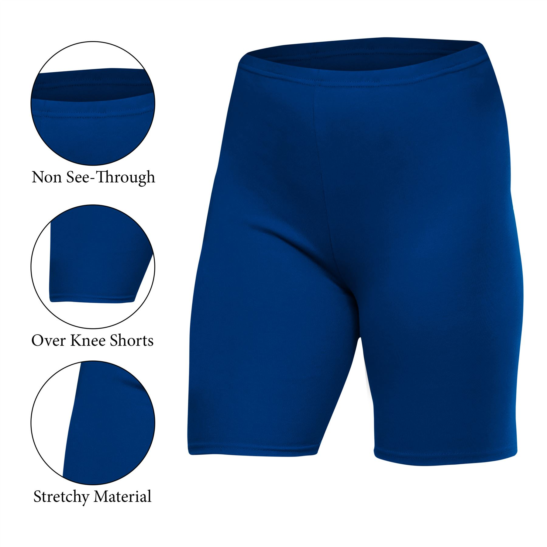 Ladies Men Gel Cycling Shorts Gym Pants Running Active Casual Biker Walking Soft