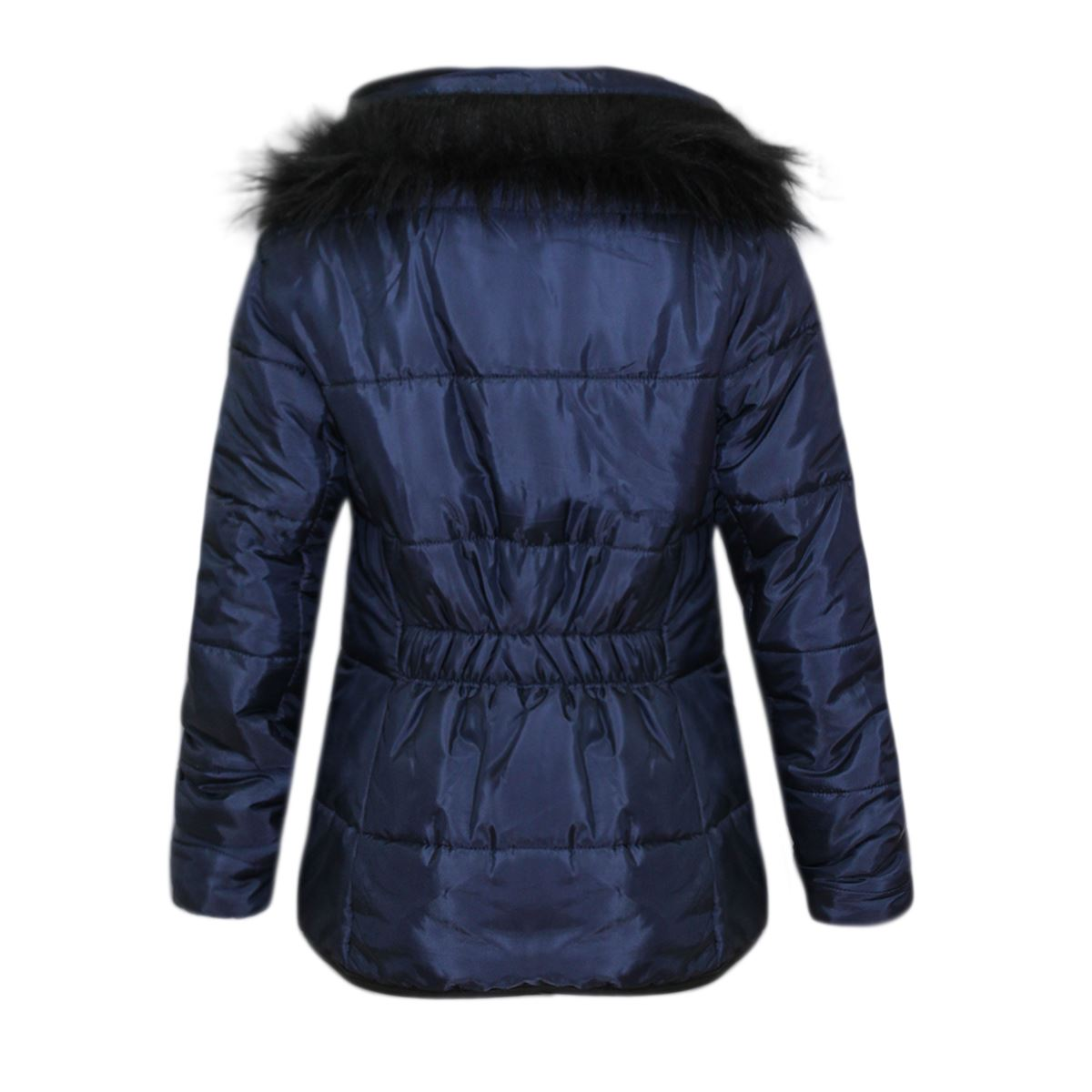 b623e0def Clearance Kids Puffer Childrens Quilted Padded Faux Fur Girls Bubble ...
