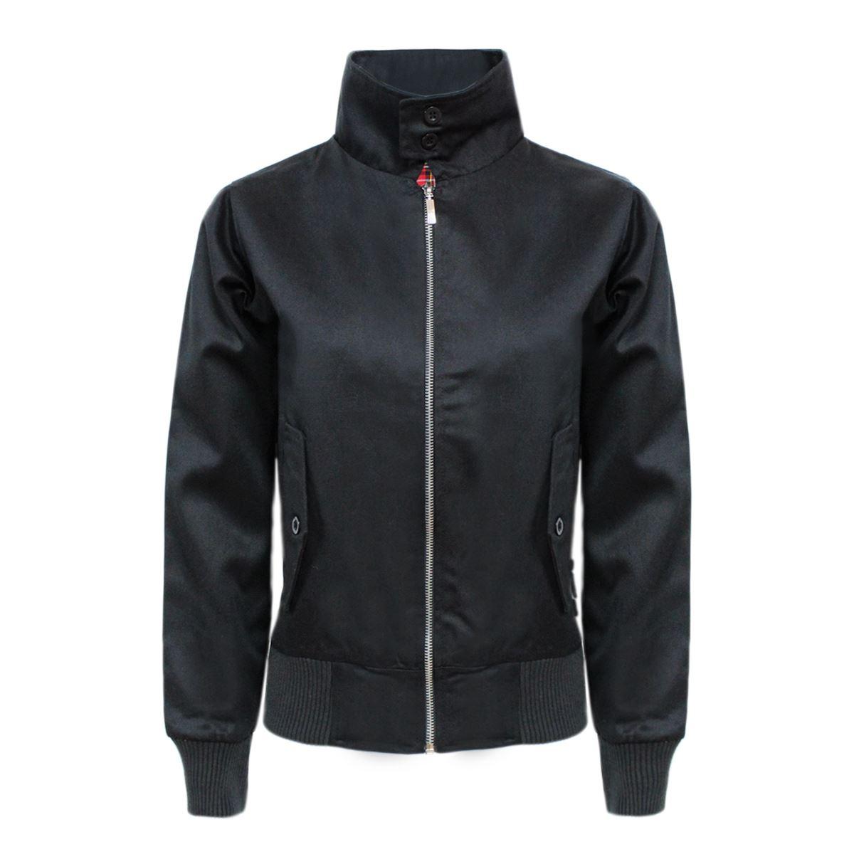 Ladies black lightweight jacket