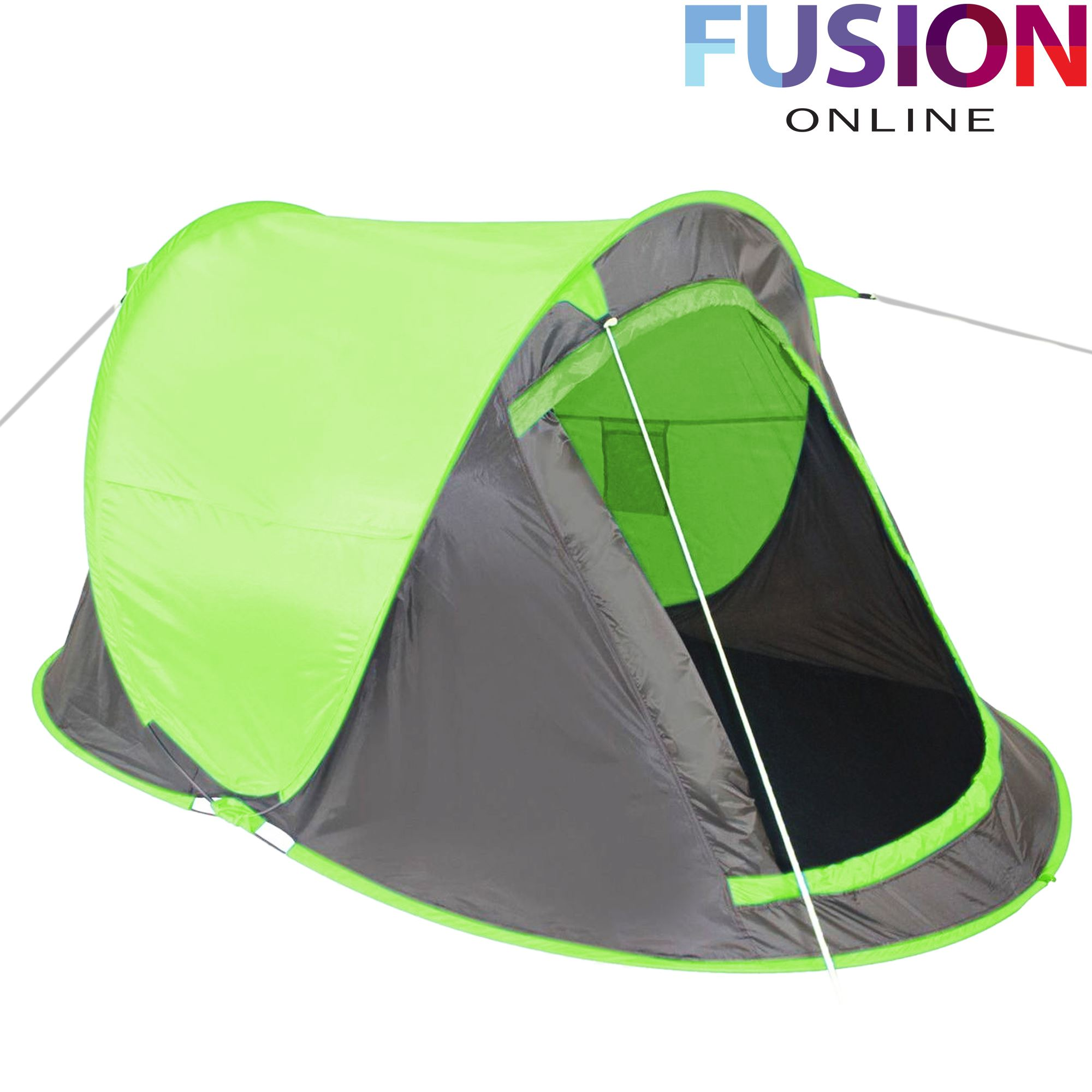 pop up tent 2 man person hiking camping festival beach quick instant fast pitch ebay. Black Bedroom Furniture Sets. Home Design Ideas