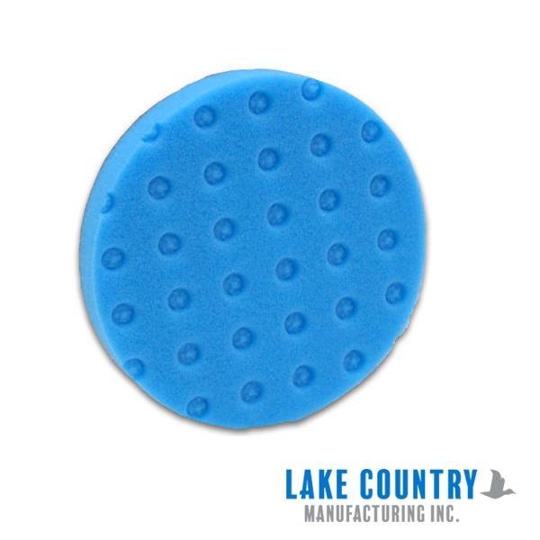 "Lake Country CCS Smart Foam DA Polisher Pad 160mm 6.5/"" Light Cutting Orange"