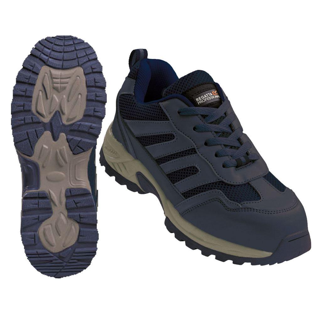 Regatta Mens Steplite Safety Steel Toe Cap Trainer Shoe Midsole Work Durable Trainer Cap c6e428