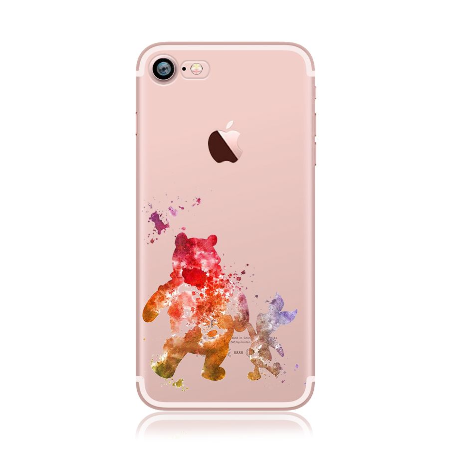 disney iphone cases watercolour disney princess characters back 10506