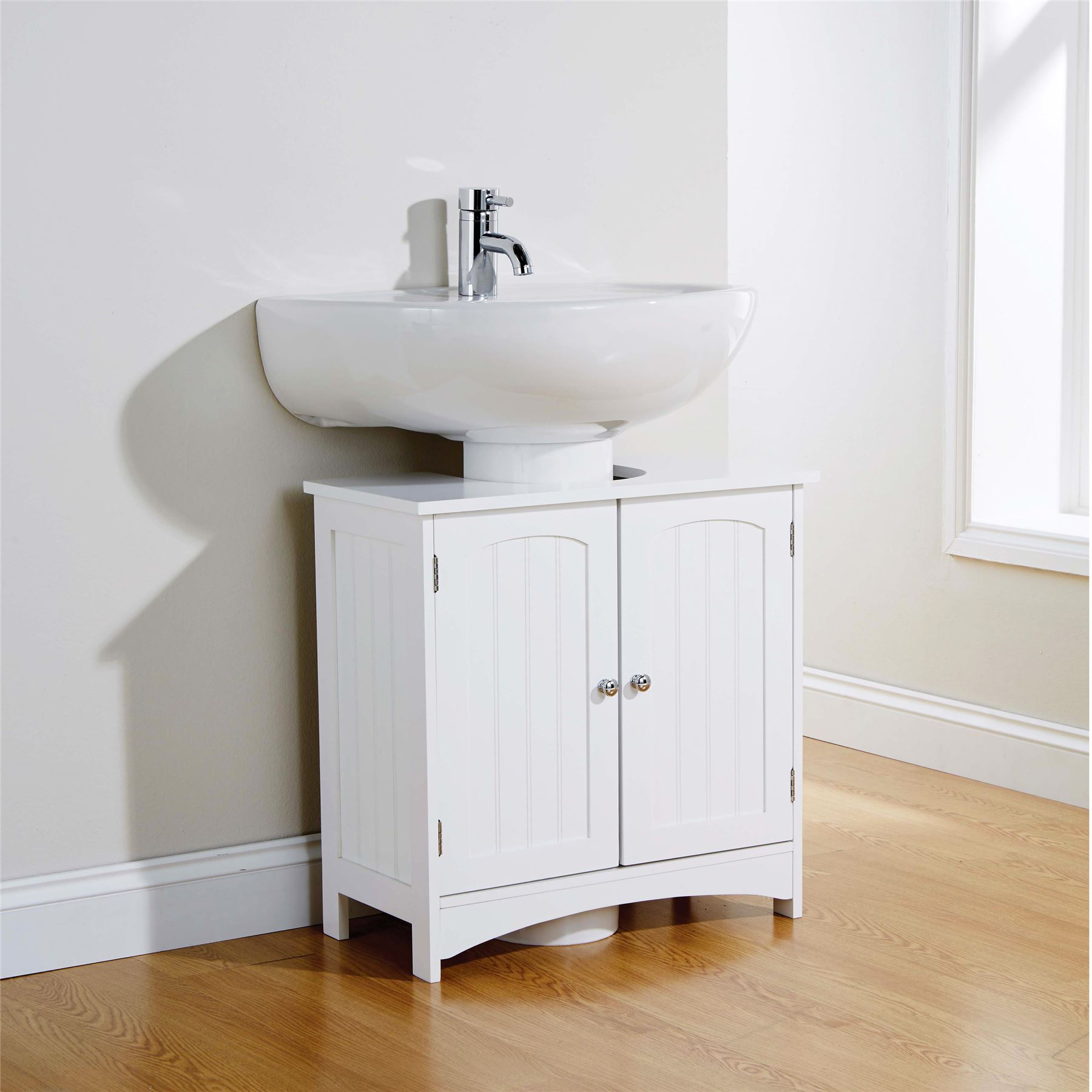 Colonial range bathroom furniture cupboard under basin for Bathroom cabinets under basin