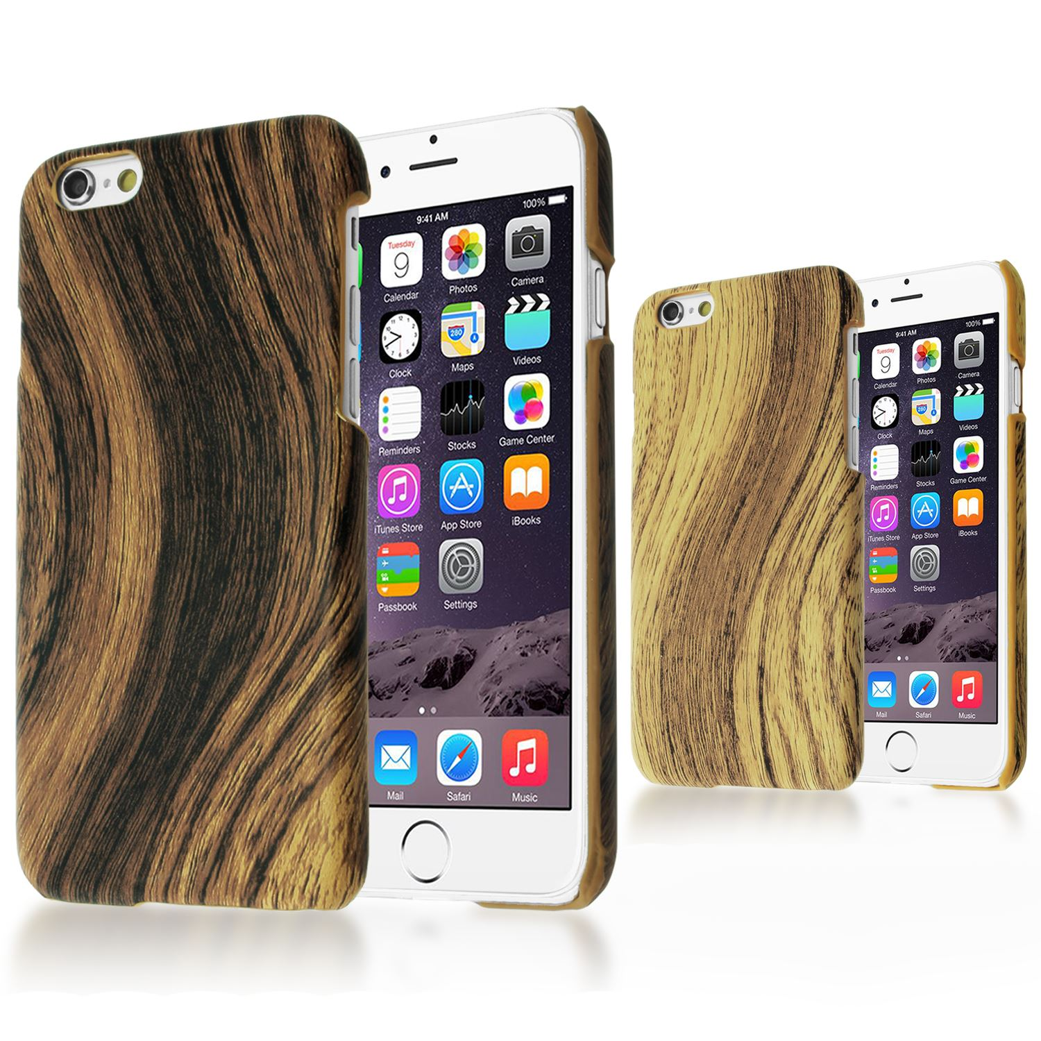 how to use flash on iphone style bamboo wood skin plastic back cover 6183