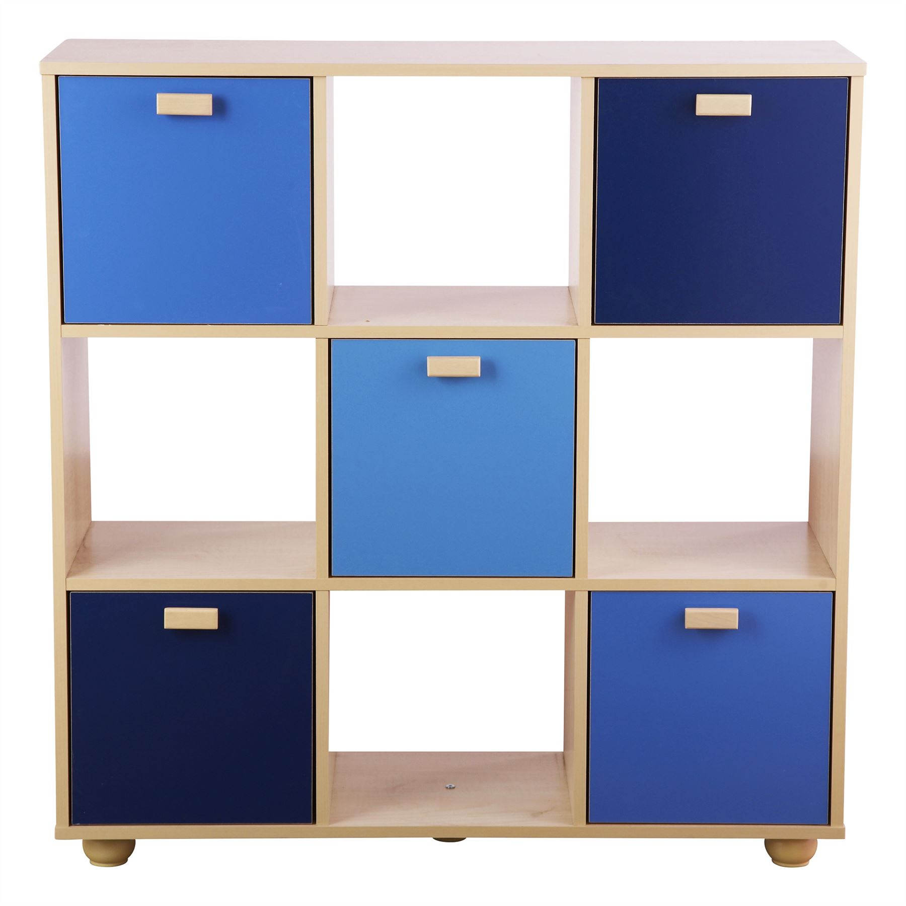 Wonderful BLUE SYDNEY RANGE SET 3 STORAGE BED BEDSIDE