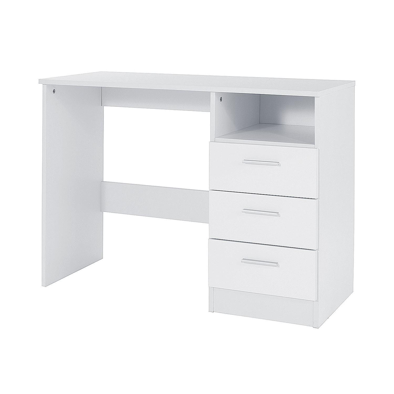 Fine Details About Ottawa Range White Gloss Effect Dresser Study Desk Dressing Table Storage Drawer Interior Design Ideas Tzicisoteloinfo