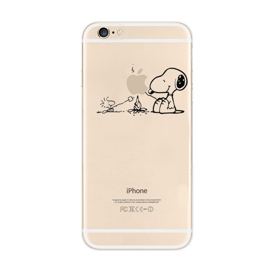 iphone x custodia snoopy