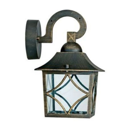 Homebase Outdoor Lighting Seville Lantern Garden Patio Vintage Style Lighting 5052226063289 Ebay