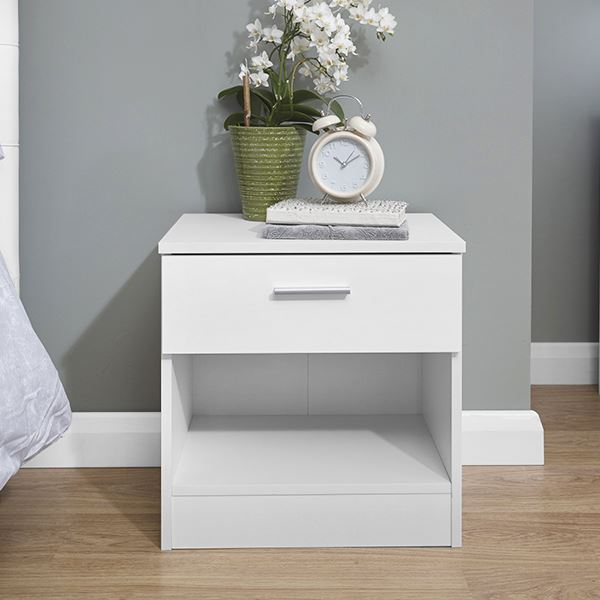 Melbourne high gloss white bedside table chest drawer cabinet robe melbourne high gloss white bedside table chest drawer watchthetrailerfo