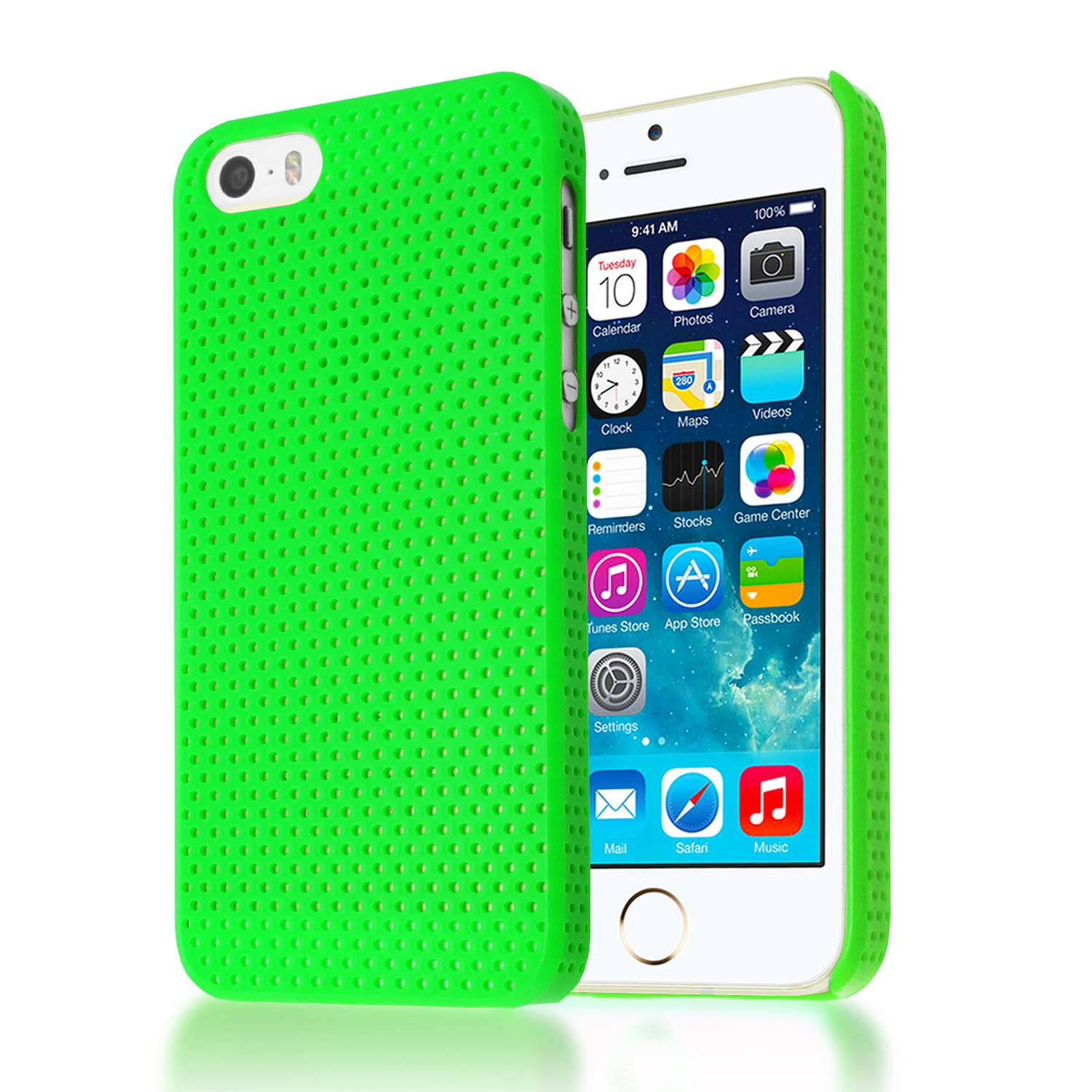 iphone 5 c cases mesh impact perforated back plastic cover for 14486