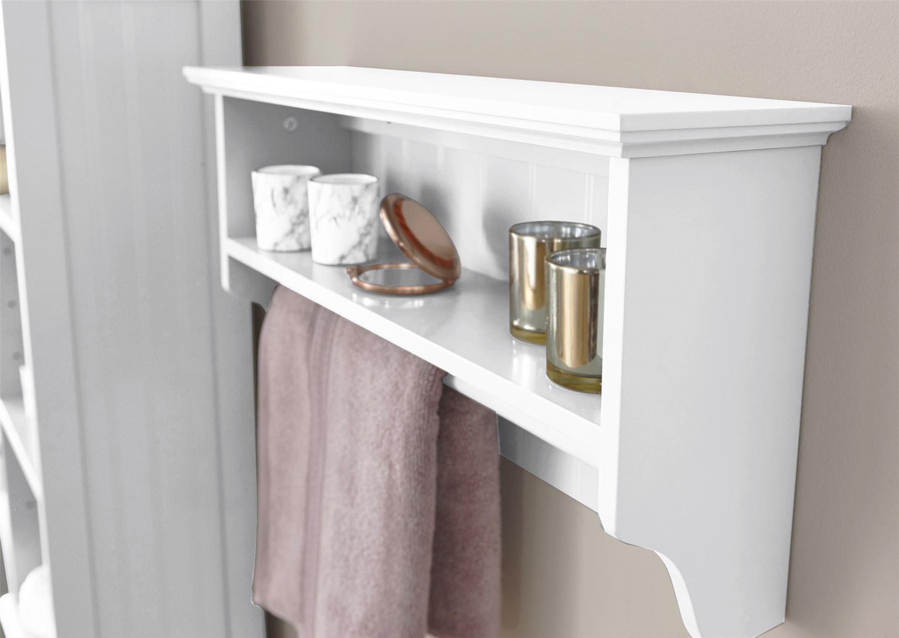 White Bathroom Furniture Cabinet Shelving Laundry Bin Mirror Door Medicine Sink: COLONIAL RANGE BATHROOM FURNITURE CUPBOARD UNDER BASIN