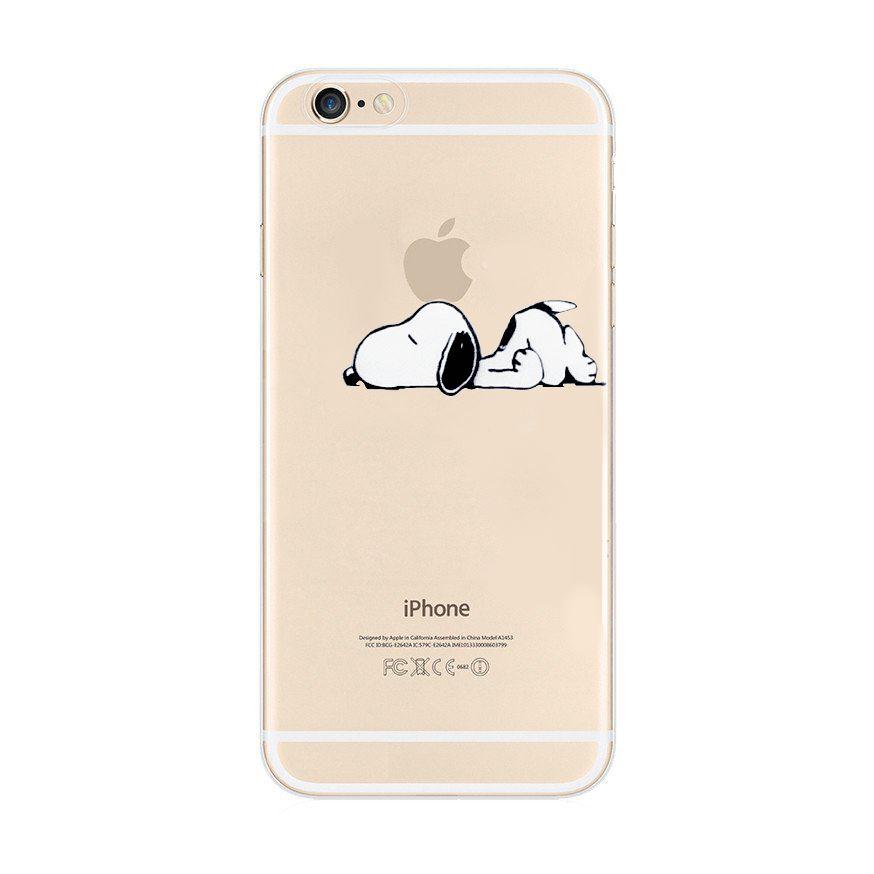 Snoopy peanuts disney dessin anim tpu gel doux coque arri re pour iphone x 8 8 7 7 6 s 6 ebay - Snoopy dessin ...
