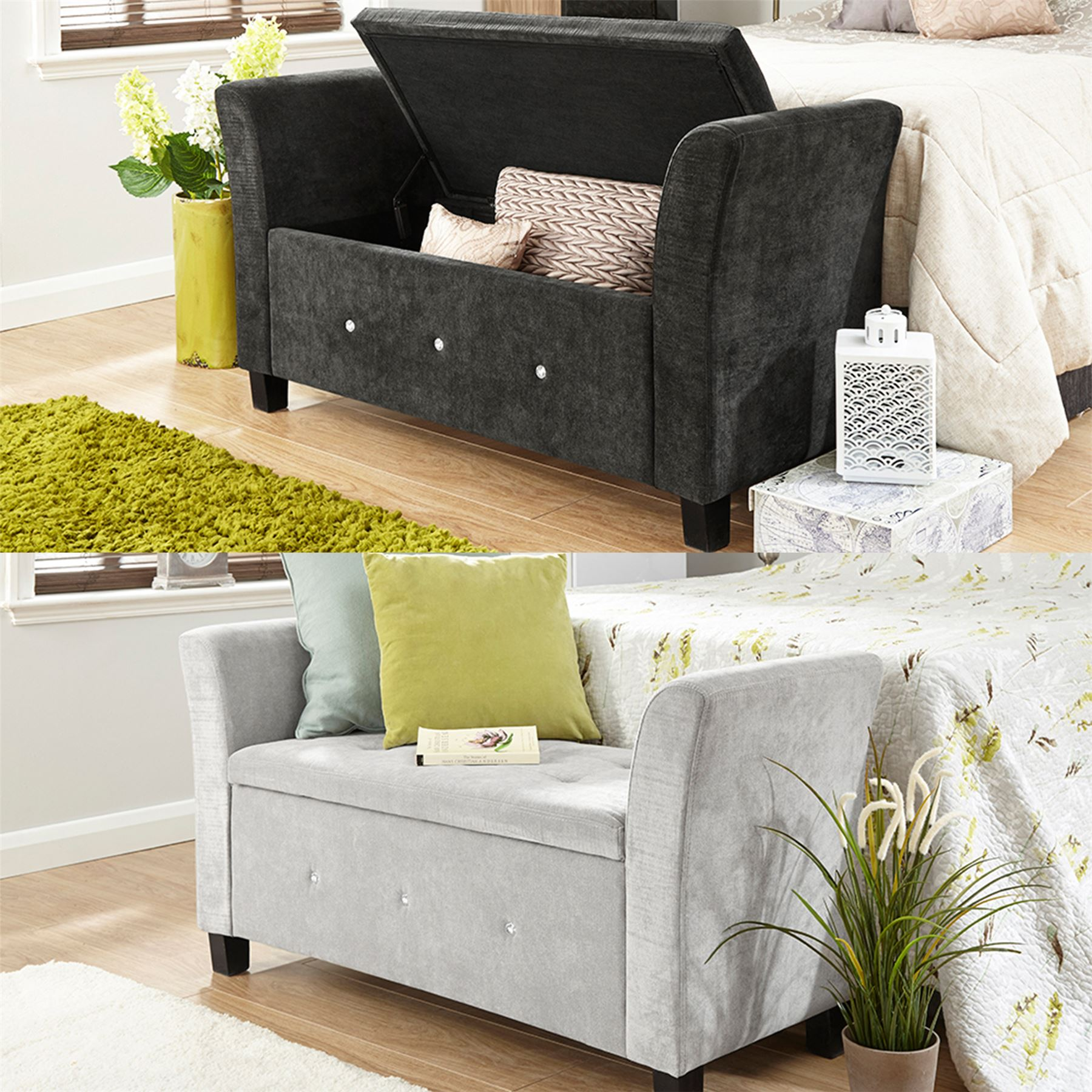 Furniture Living Room Seating Ottomans Storage