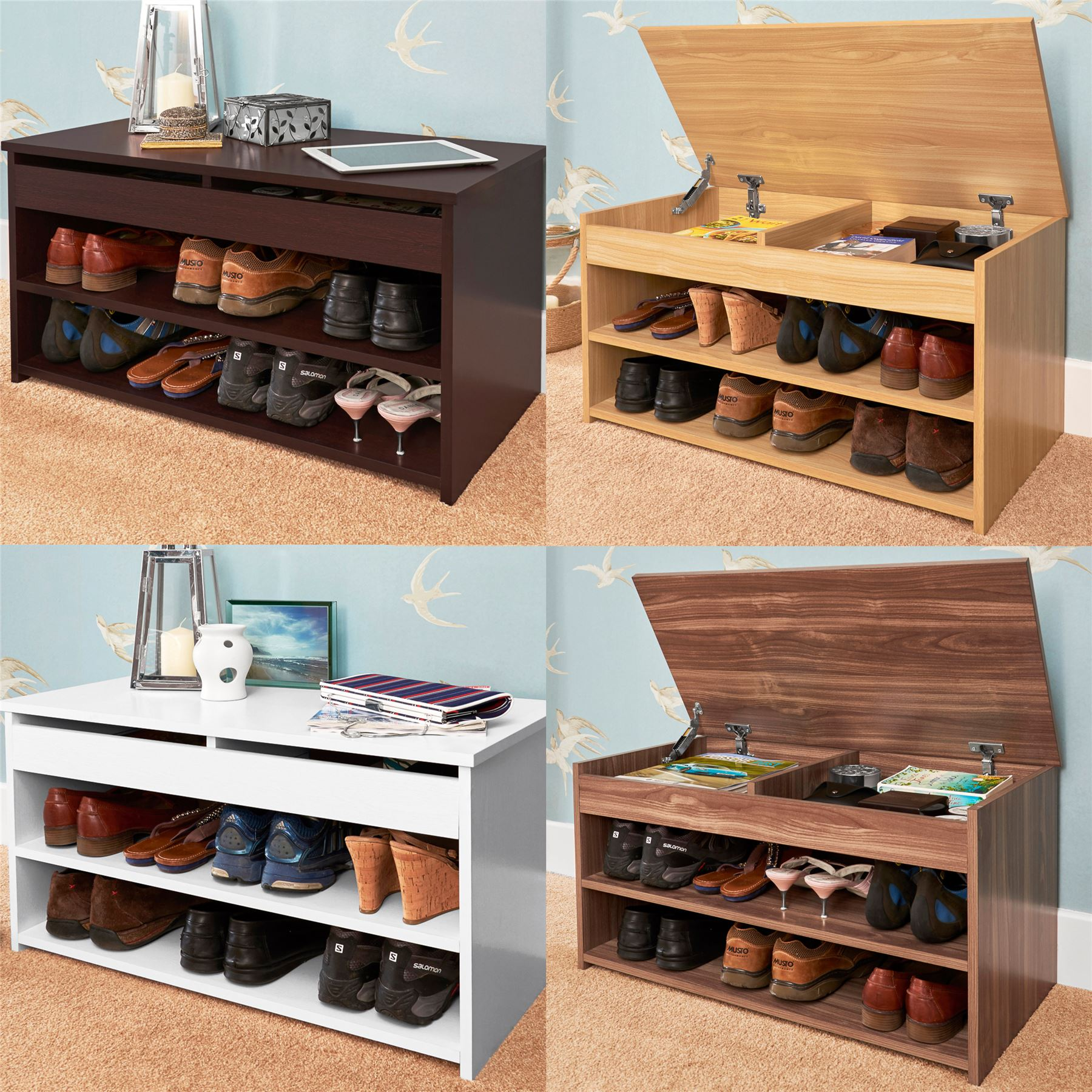 com doors with dp shoe amazon furniture rhodes brown organizer storage dark and entryway cabinet