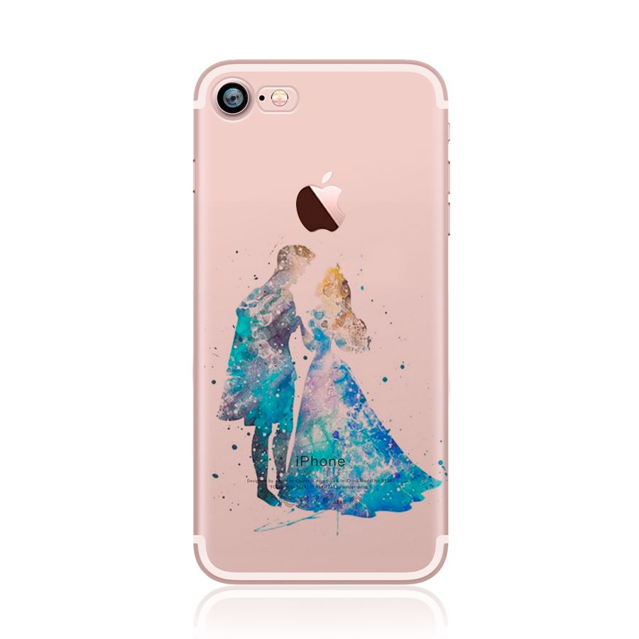 disney iphone cases watercolour disney characters paint back for 10506