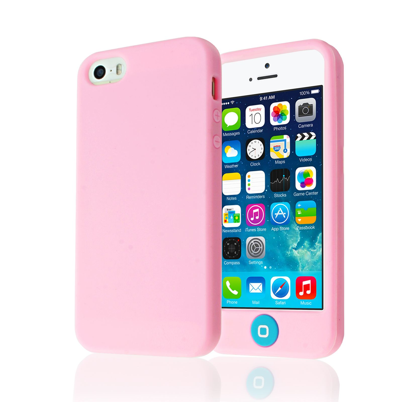 custodia iphone 5c silicone