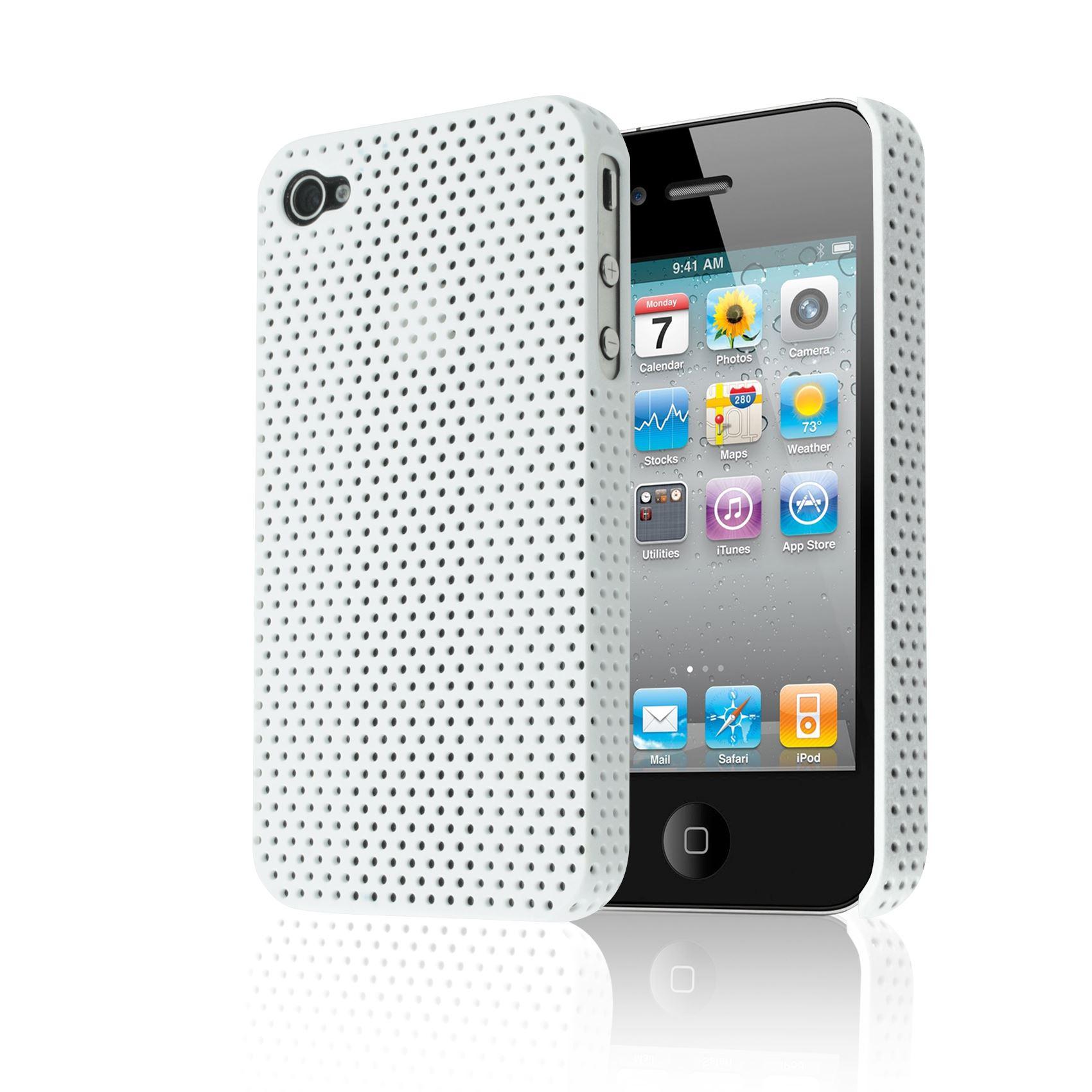 PERFORE-MAILLE-ETUI-IMPACT-MAT-COUVERCLE-BOITIER-PLASTIC-CASE-POUR-IPHONE-4S-4