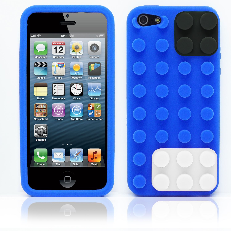 custodia silicone 5s iphone