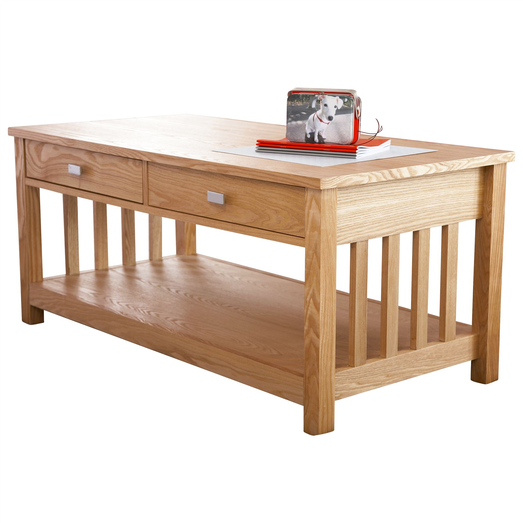 Coffee Table With Book Storage: ROYAL OAK LIVING ROOM BOOKCASE TV UNIT STAND COFFEE LAMP