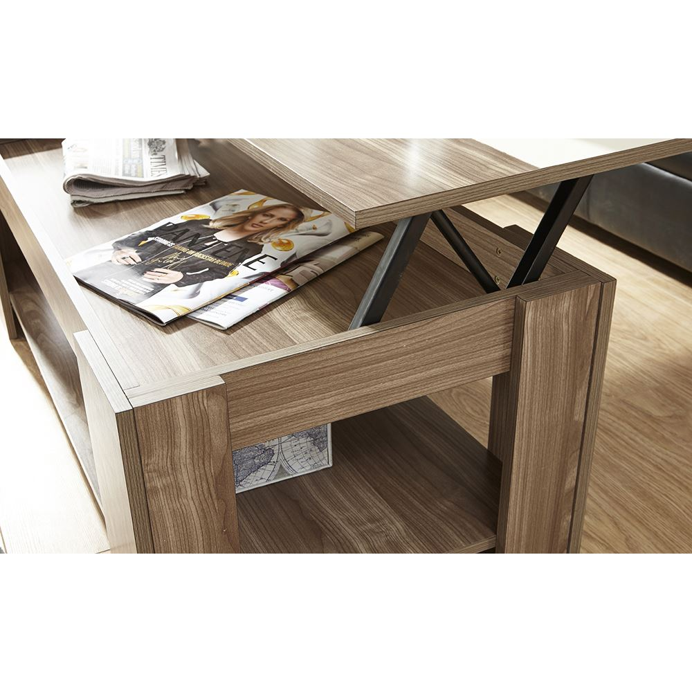 LIFT-UP-COFFEE-TABLE-GLOSS-STRIP-TEA-ESPRESSO-LOUNGE-TABLE-WITH-STORAGE-amp-SHELF