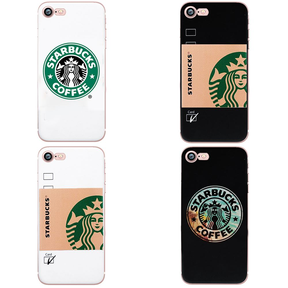 finest selection 69f93 1c51d Details about STARBUCKS LOGO COFFEE MUG CUP BOTTLE TPU GEL SOFT BACK CASE  FOR IPHONE 8 7 6S 6