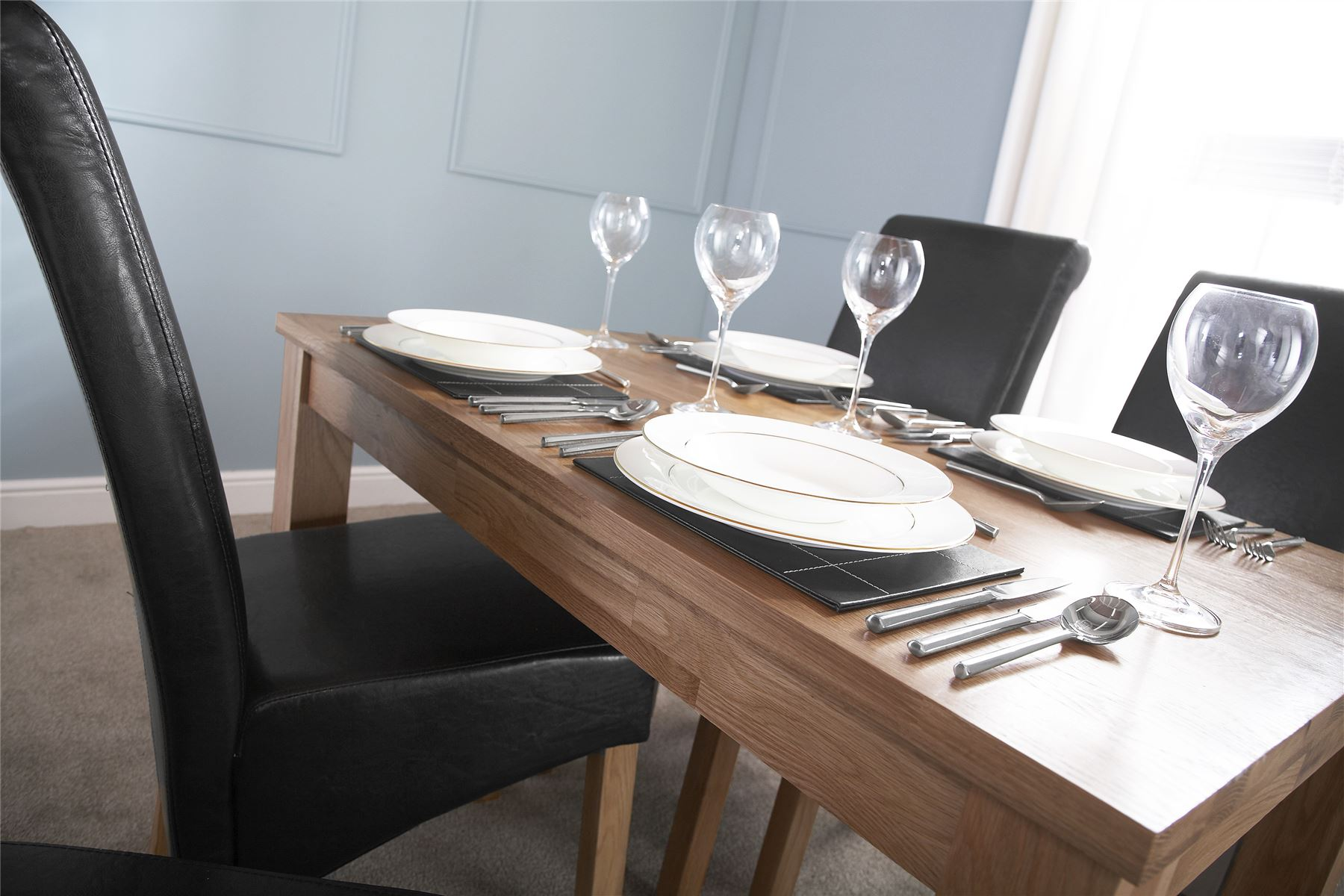 chairs kitchen living and quercus dining fsl constance cm table set angle oak