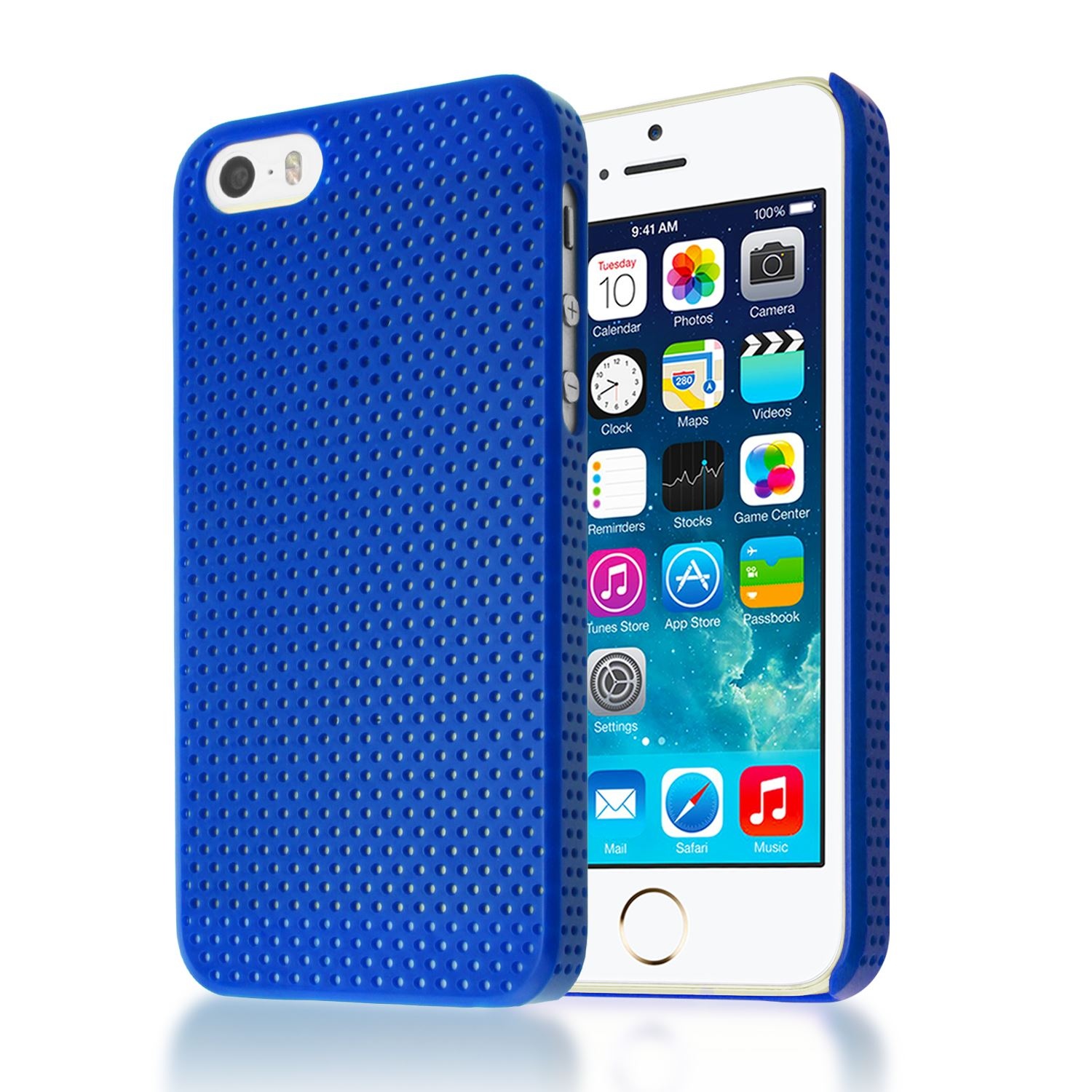 PERFORE-MAILLE-ETUI-IMPACT-MAT-COUVERCLE-BOITIER-PLASTIC-ARRIERE-DUR-IPHONE-5S-5