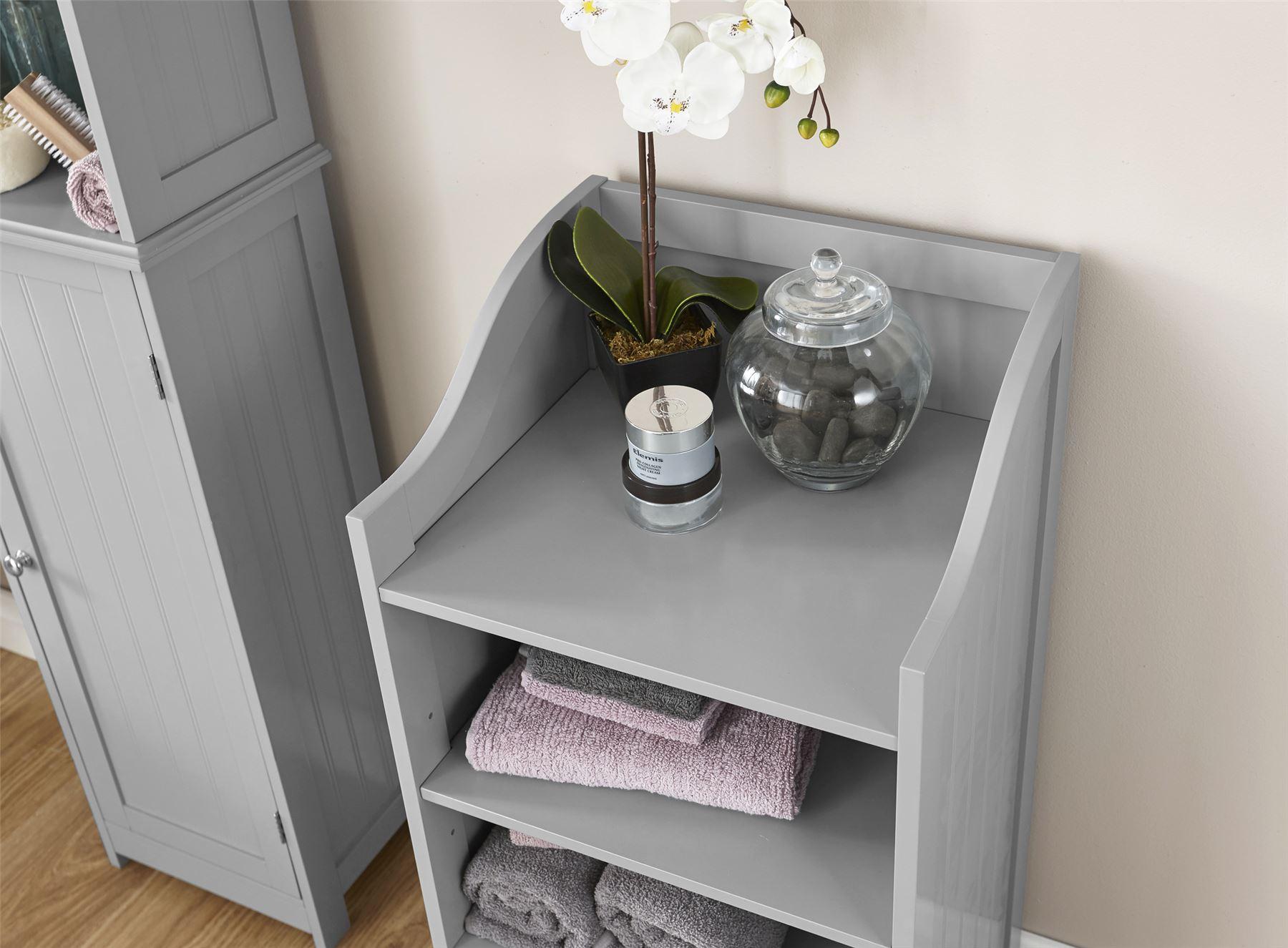 White Bathroom Furniture Cabinet Shelving Laundry Bin Mirror Door Medicine Sink: COLONIAL RANGE BATHROOM FURNITURE CUPBOARD SHELF UNDER