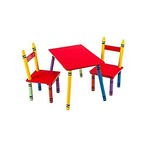Terrific Details About Children Kids Study Desk Table Chairs Set Fun Crayon Design Ocoug Best Dining Table And Chair Ideas Images Ocougorg