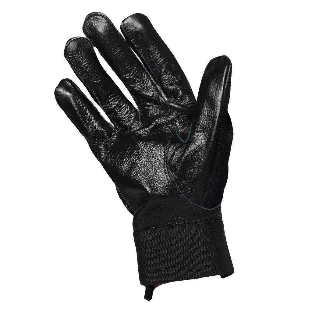 G126 nero attillato GUIDA SMART IN PELLE GUANTO Traspirante Air Mesh NY Guanto Nero