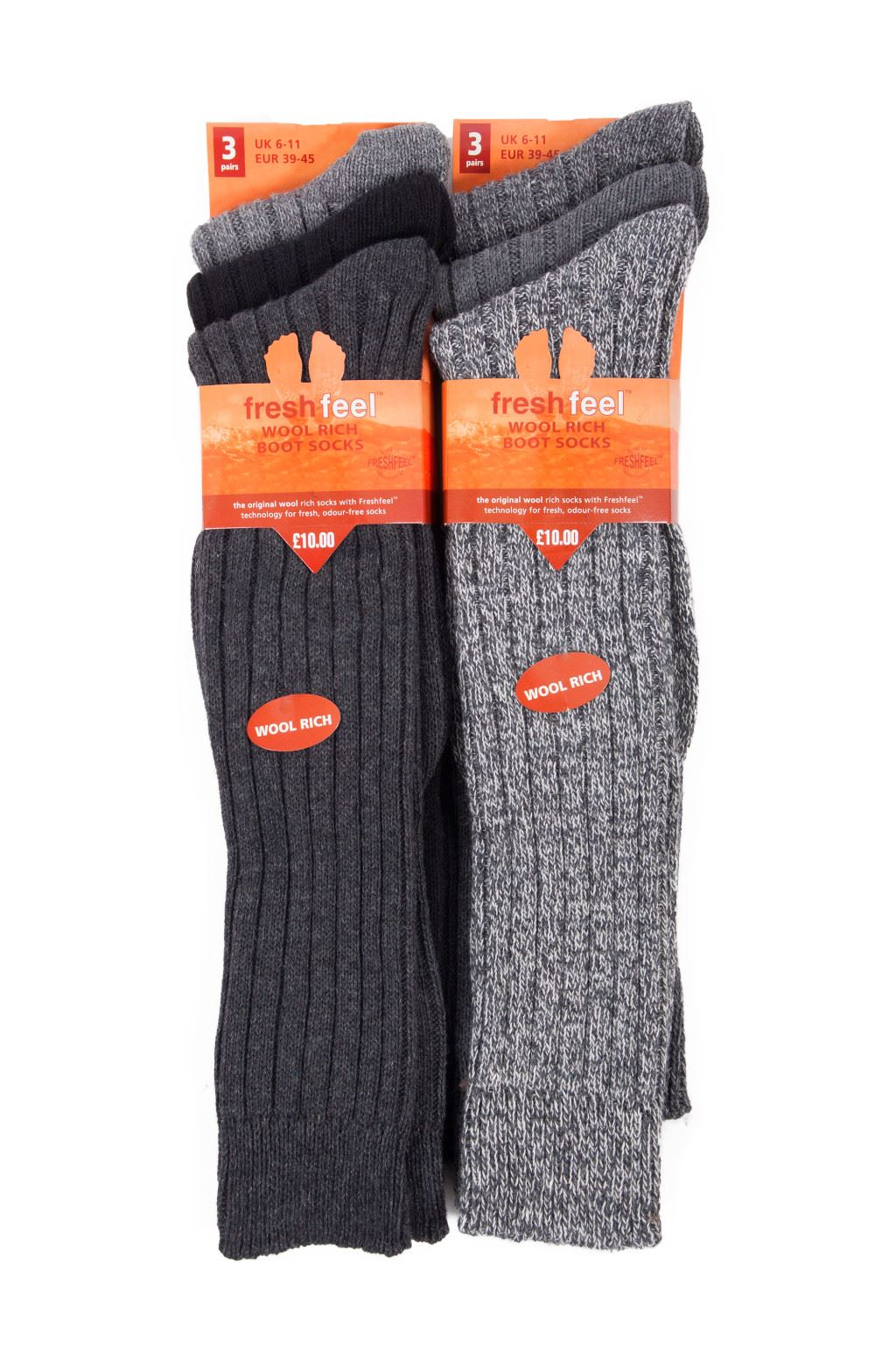 6pairs Mens Long Chunky Thermal Socks Walking Hiking Winter Warm Work Socks UK