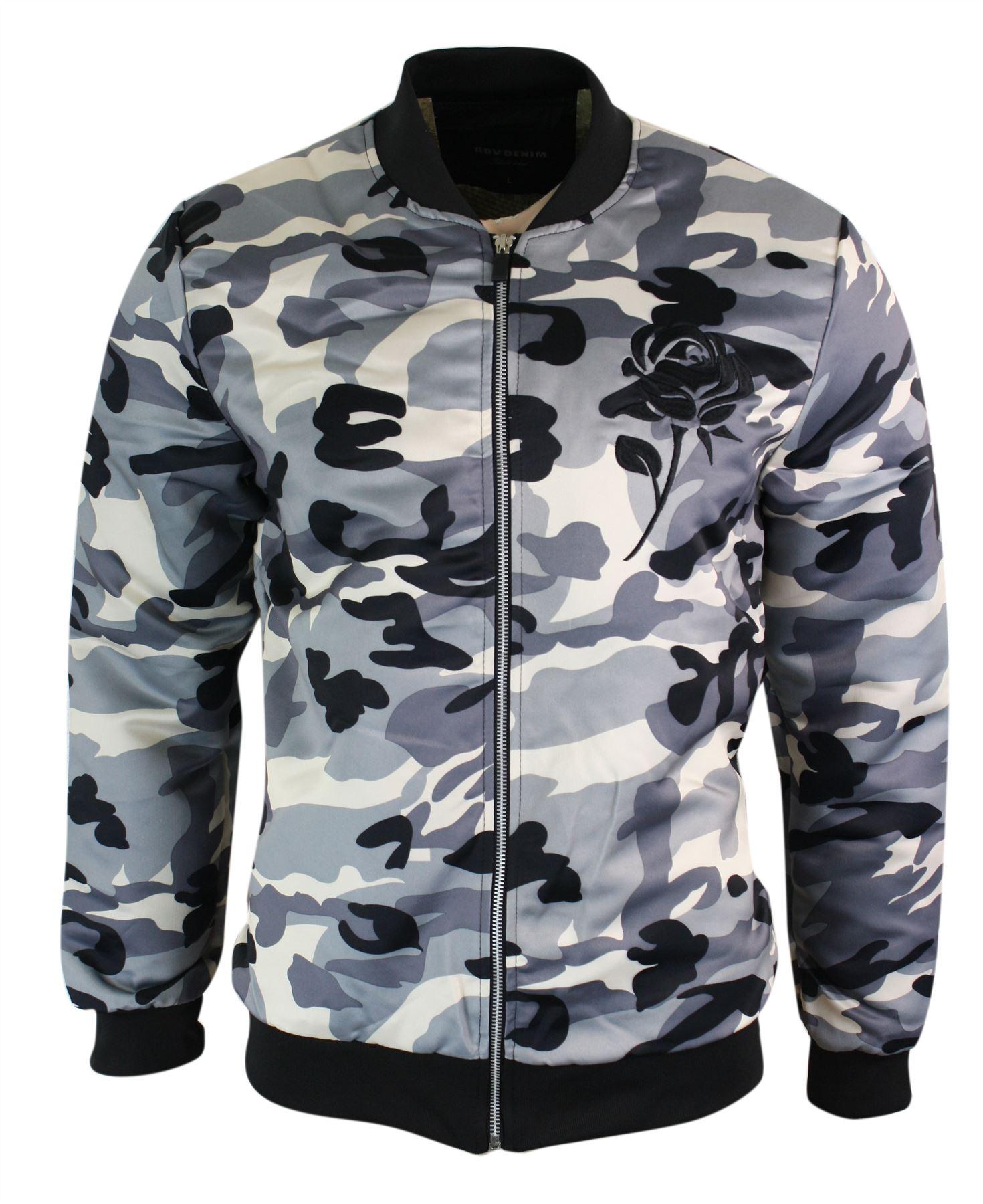 Armée Militaire Homme Ma1 Camouflage Bomber Style Blouson ZwTzqZ