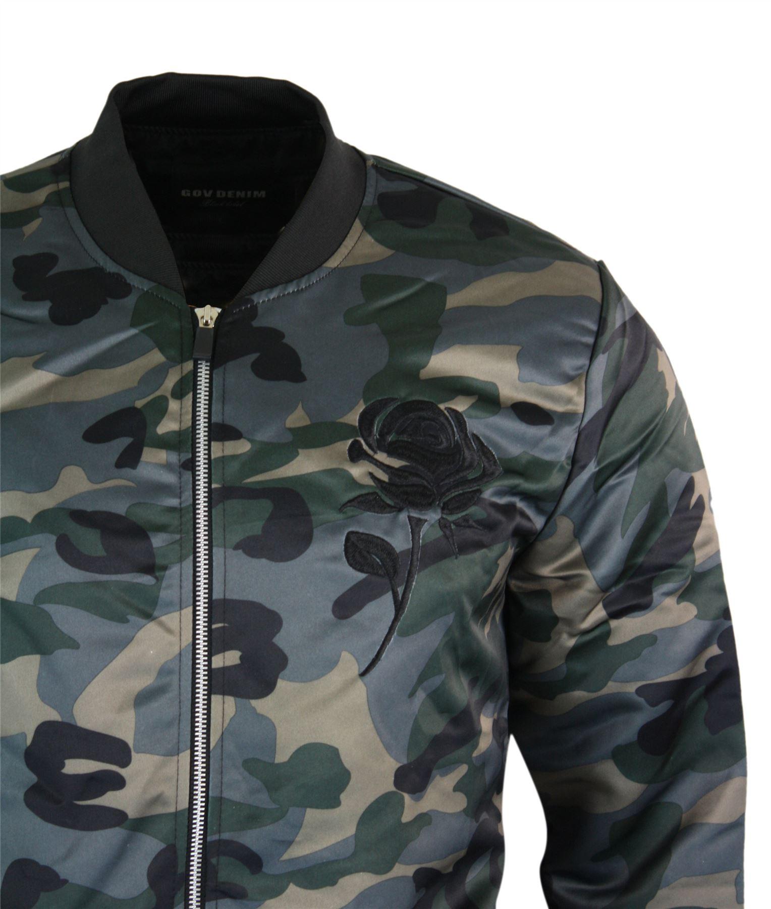 Militaire Blouson Bomber Style Armée Homme Ma1 Camouflage wrwdXqT