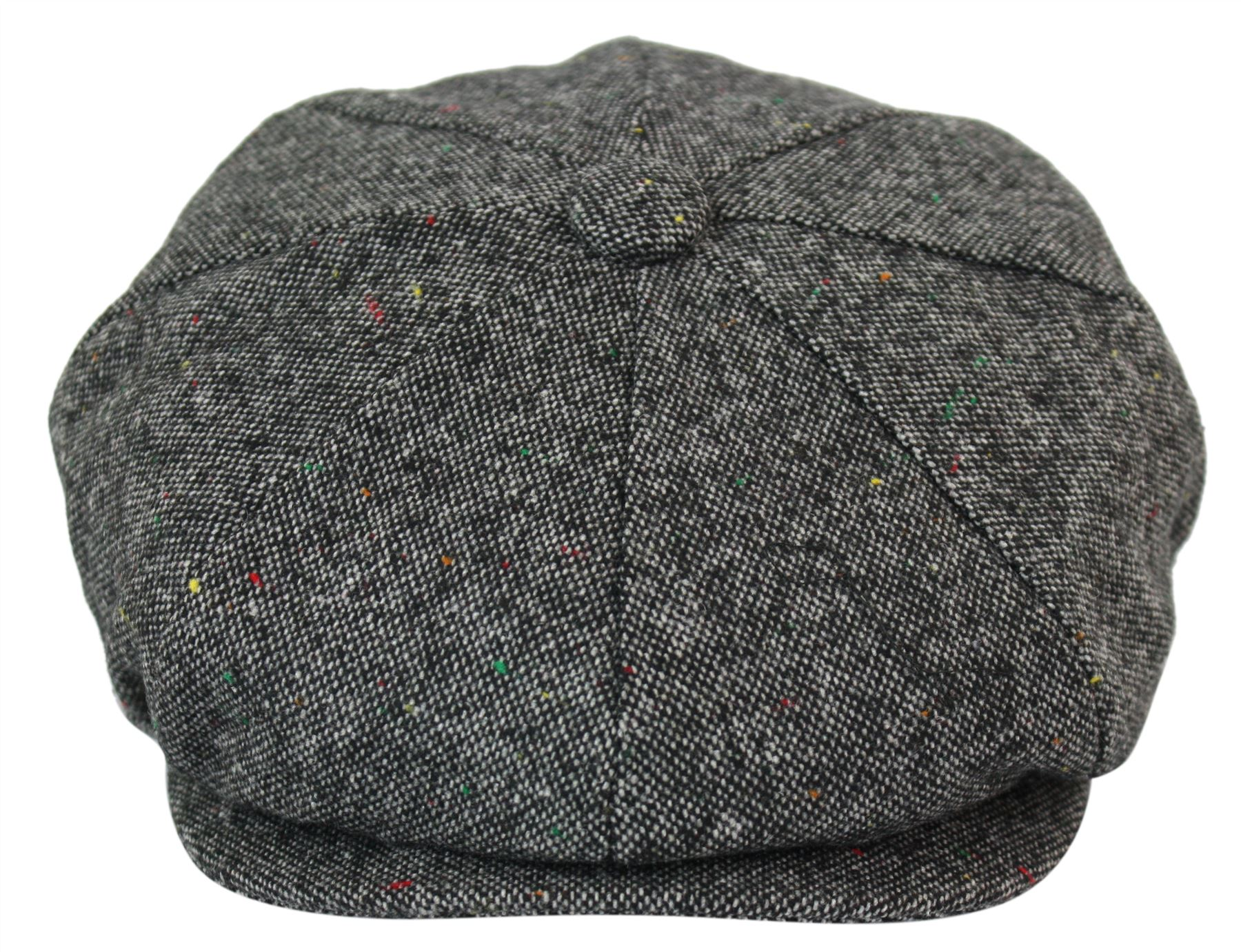 Mens Tweed Newsboy Cap Peaky Blinders Baker Boy Flat Check ...
